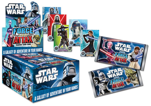 Force Attax Star Wars samlarkortspel till Sverige « BLÅ MÖLK